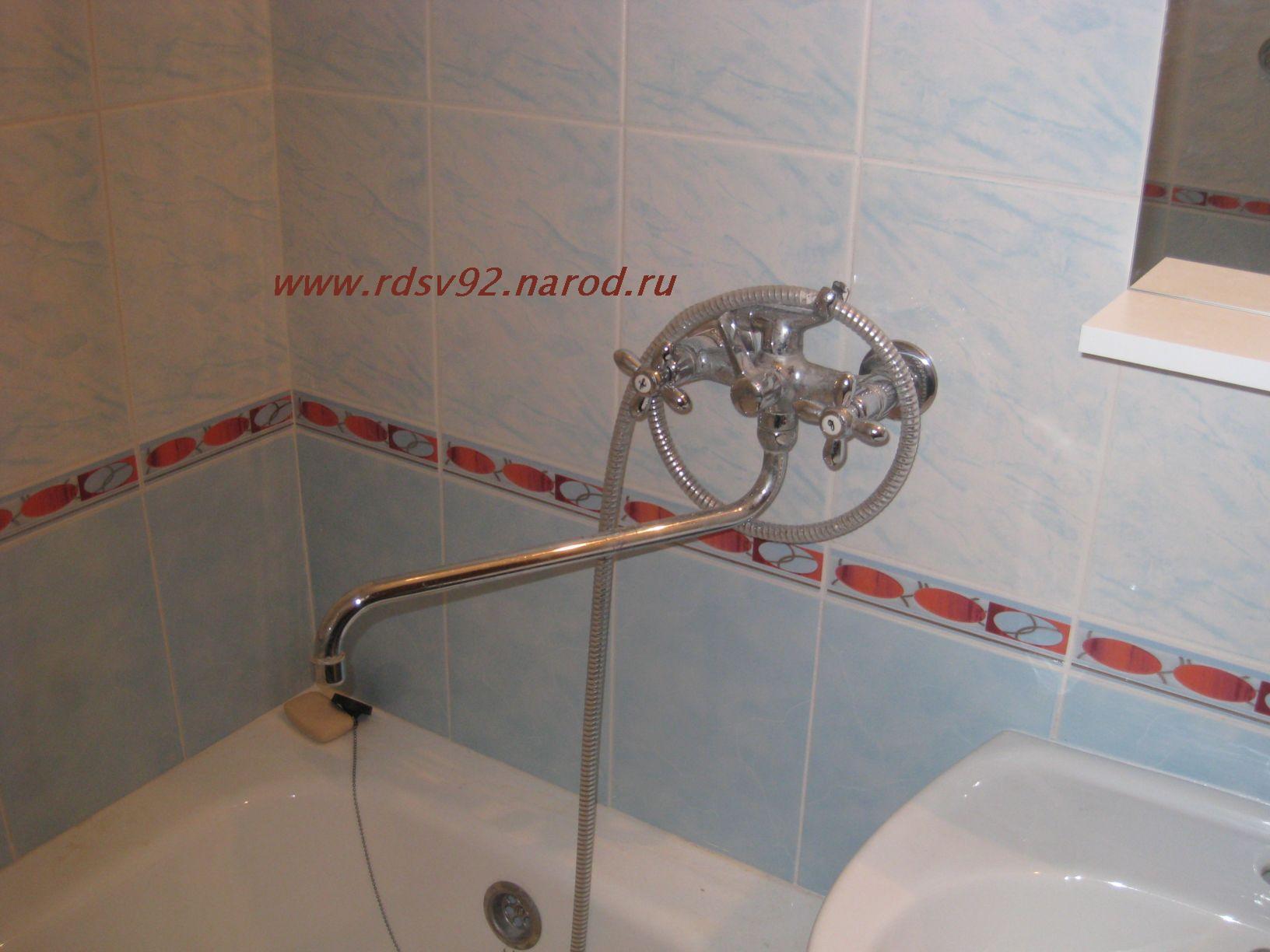 Ремонт смесителя с душем в ванной своими руками